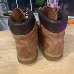 Timberland Caramel High Top Boots